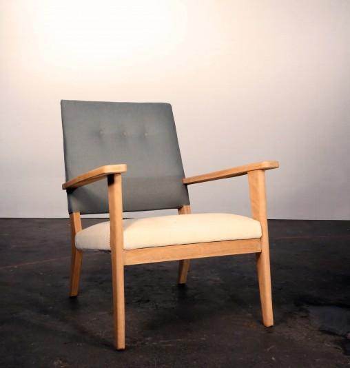 Re-création à partir d'un fauteuil chiné par Marie Cocquerelle - On Est Bien Assis Là